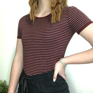 GARAGE Striped T-Shirt